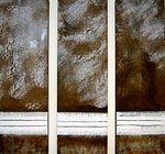 TRÍPTICO MURO  HN 081-acrílica sobre madeira -1999 - 130 x 160cm