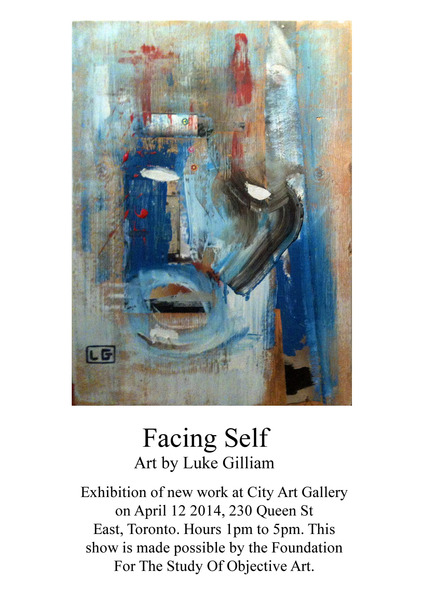Facing Self Poster
