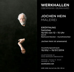 Exhibition: Jochen Hein – Painting