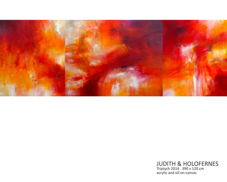 JUDITH & HOLOFERNES (Triptych)