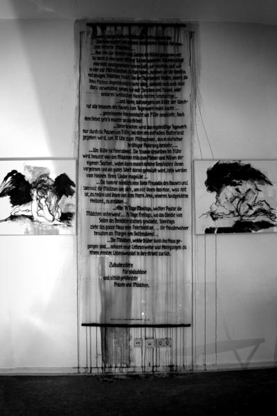 2014 Installation Raum der Engel 3