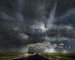 Rain over Route 101