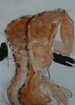 männlicher Rücken