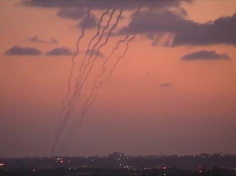 Under missile attack