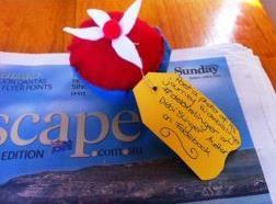 Cupcake on Sunday morning breakfast - Random Street Art