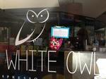 Travelling Owl at the White Owl Cafe