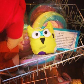 Travelling Owl Project at Warrandyte Lolly Shop