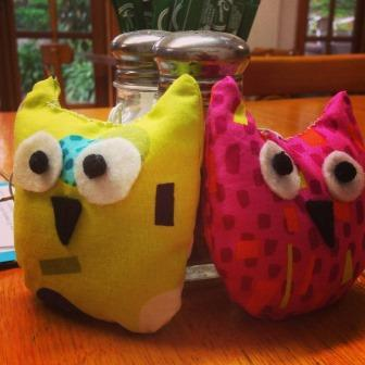 Travelling Owl Project -  about to begin their journey