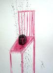 head on a chair