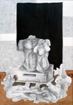 žensko muški pijadestal 55x43cm2011 crtez kombinovana