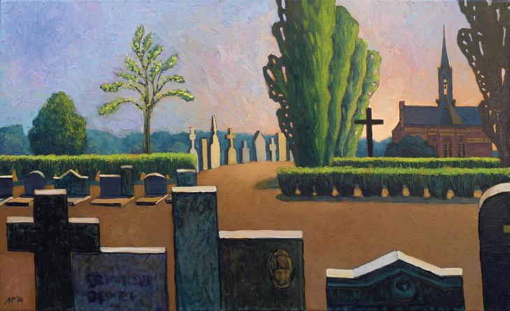 Cemetery in Delft.