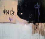 """Dako """"141"""" mixed media 123x105cm 2014"""