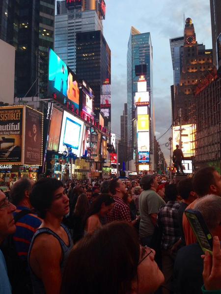 SeeMe Times Square event 2014