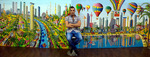 assaf henigsberg naive paintings raphael perez art tel aviv rafi