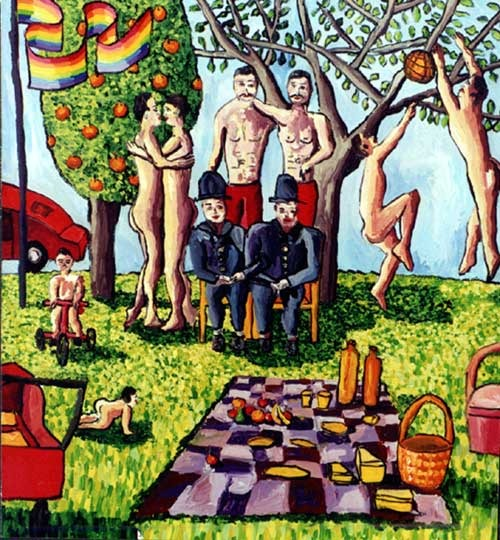 gay generation homoerotic art paintings queer painting homo male