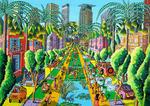 naive paintings art by raphael perez tel aviv street paintings