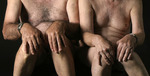 two older gay couple homosexual art photo naked male nude man