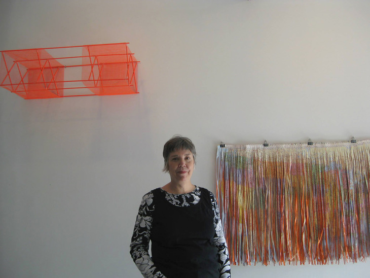 Artist in studio, Dana Kane