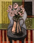 Vase of Flowers, on a Chair
