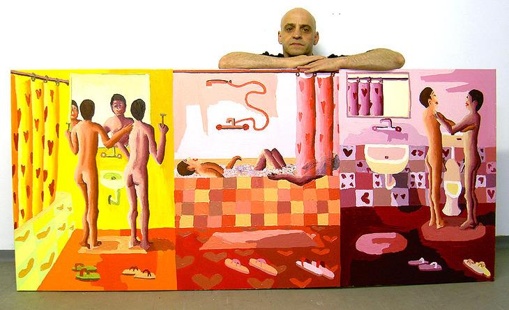 gay art queer paintings men painting male artworks