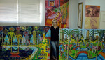 naive paintings art raphael perez email rafi@art4collector.com