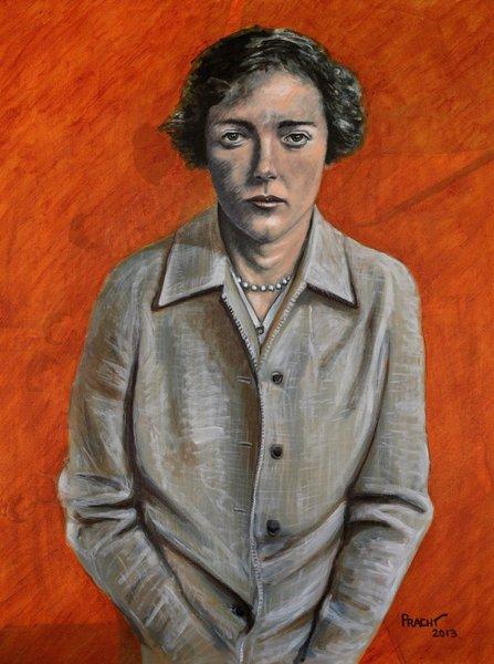 Portrait of an Unidentified Woman; Boston, MA; circa 1945