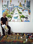 raphael perez self portrait naive paintings art