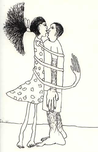 drawings man woman relationship draw male female men women art