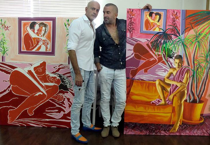 israeli art collector love buy artworks modern artist israel