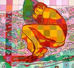 nude male painting naked man art paintings men erotic artworks