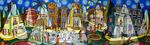 starry night painting naive paintings art raphael perez painter