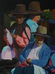 Quechua, Tawantinsuyu Women at The Market in Cusco