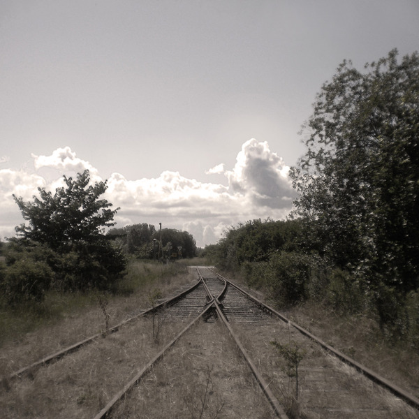 Railway Tracks & Clouds