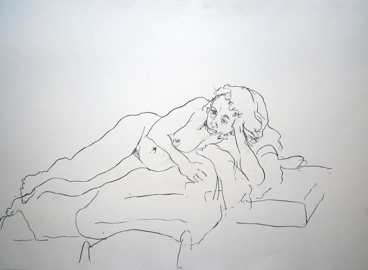 reclining nude #634