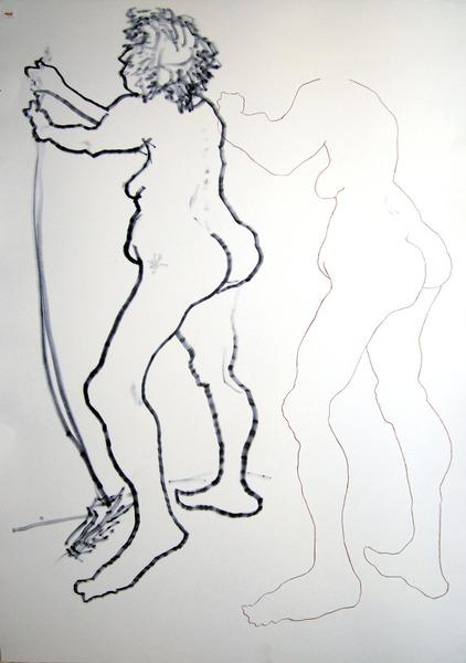 standing nude #634