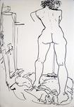 standing nude #658