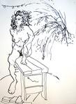 reclining nude #579