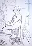 reclining nude #557