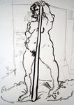 standing nude #643
