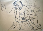 seated nude #644