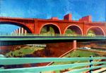 Bridge, Buildings and Ramps
