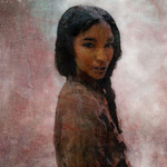 American Indian girl, Oroville, California
