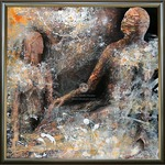 ORIGINAL PAINTING by OVIDIU KLOSKA dew collectors series composi