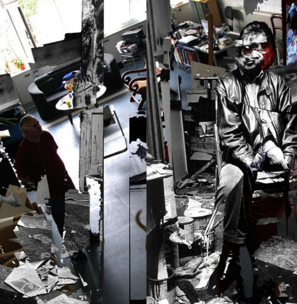 Francis Bacon besucht unerwartet die Wiesenstraße