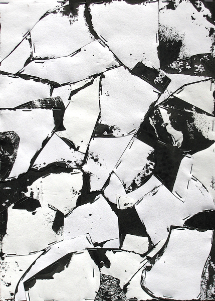Untitled (Sumi Collage No.3)
