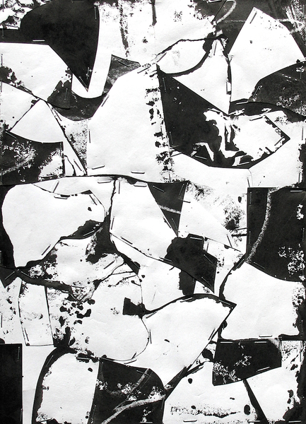 Untitled (Sumi Collage No.5)