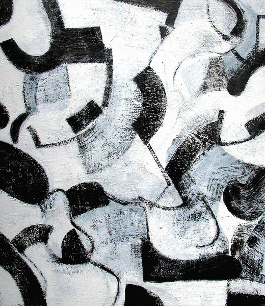 Untitled (Black Ice No.8)