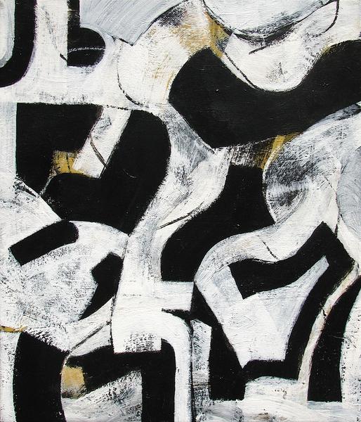 Untitled (Black Ice No.9)