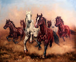 Hurry up my horses - seven angels
