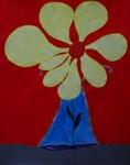 Gemälde-77-Plakatfarbe Format 42 cm x 52,4 cm